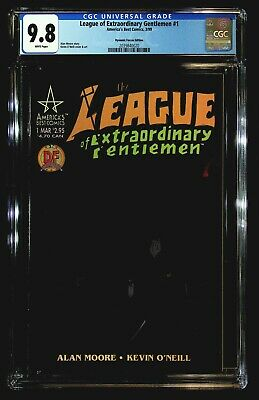 League of Extraordinary Gentlemen #1 CGC 9.8 O'Neill, Dynamic Forces Edition