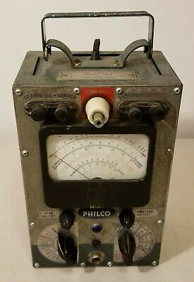 Philco - Model 7001 - Electronic Circuit Master Meter -Volt, AC/ DC, Ohms - READ