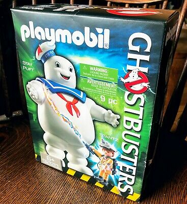 PLAYMOBIL GHOSTBUSTERS #9221 Stay Puft Marshmallow Man New Factory Sealed