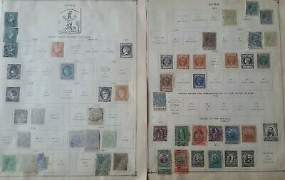 Lot of Isla DaCuba Old Stamps Used/MH