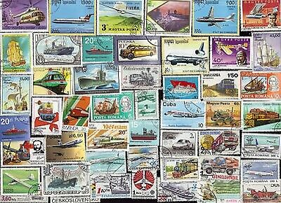 50 All Different Planes, Trains, Automobiles, & Boats