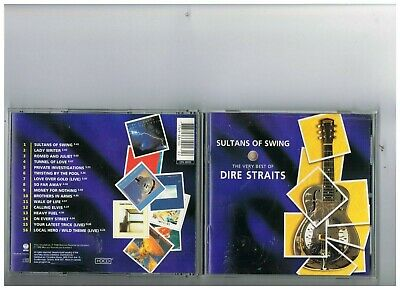 Dire Straits Cd. Greatest Hits.the Best Of..collection..sultans Of Swing
