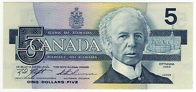 1986 Canada 5 Dollar Notes - ANL7234658, BC-56d