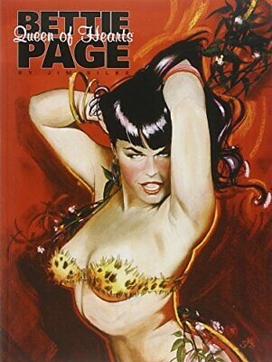 Bettie Page: Queen of Hearts by Silke, Jim Paperback Book The Cheap Fast Free