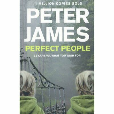 Perfect People by Peter James Book The Cheap Fast Free Post
