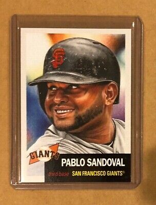 2019 Topps Living Set Pablo Sandoval # 204. Lowest Print Run Of Series 2574 (4)