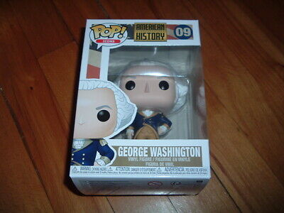 Funko Pop! George Washington #09~ New~ Near Mint~ American History Series~