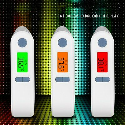 4 in 1 Digital Baby Adult Kid Body Infrared Temperature Thermometer pF