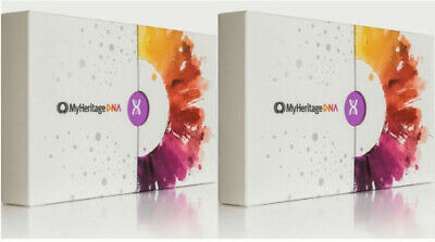*2Boxes* MyHeritage DNA Test Kit - Ancestry & Ethnicity Genetic Testing!!! SALE!