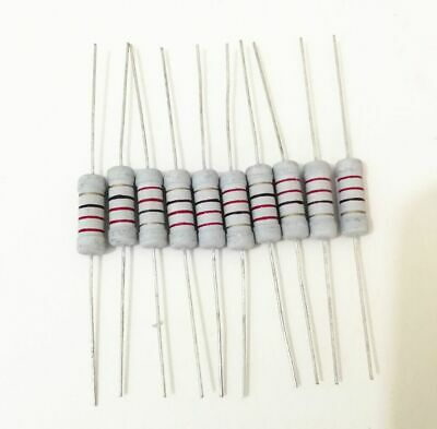200Pcs 10 ohm-1M ohm 20Value 3W Resistor Set 5% Resistance Assortment Kit