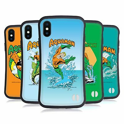 OFFICIAL AQUAMAN DC COMICS FAST FASHION HYBRID CASE FOR APPLE iPHONES PHONES