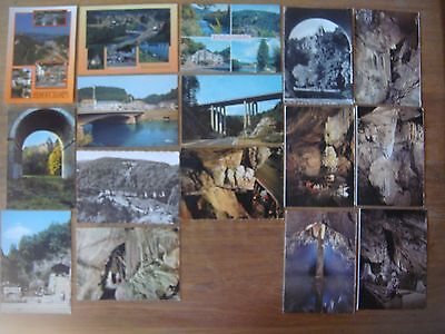 Lot de 16 cartes de REMOUCHAMPS