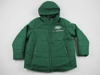 brand new 106a2 e9cd5 NIKE NEW YORK Jets - Green Poly Winter Jacket (Multiple ...
