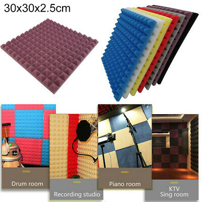 Practical Acoustic Foam Panel Sound Stop Absorption Sponge Studio KTV Soundproof