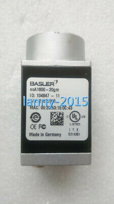 1PC used BASLER acA1600-20gm Industrial black and white CCD camera