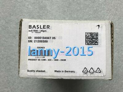 1PC New BASLER acA1600-20gm Industrial black and white CCD camera