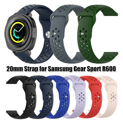 20mm Silicone Watch Band Bracelet Strap For Samsung Gear Sport Smart Watch Hot
