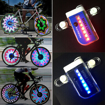 30 Pattern Cycling Wheel Spoke Light 14 LED Bike Accessories Bicycle