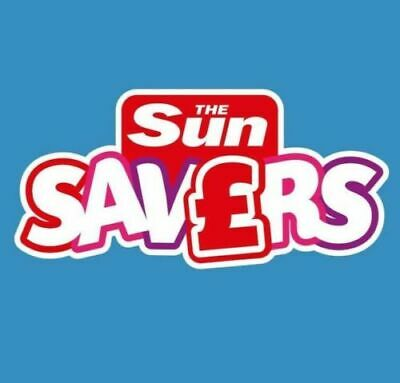 💖 The SUN SAVERS Codes Unique 8-DIGIT Code > ANY Dates JUNE & JULY 1,2,3,4