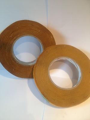 TISSUE DOUBLE SIDED (REFIX) TAPE 2 rolls x 13MM X 50M WATER RESISTANT
