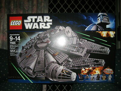 Lego Star Wars 7965 Millennium Falcon set NEW & SEALED retired hard to find