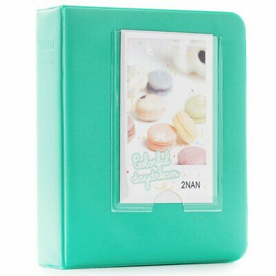 CAIUL 64 Pockets Candy Color Book Album for Fujifilm Instax Mini  8 8+ 9 70 7s