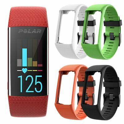 Replacement Soft Silicone Wristband Watch Band for Polar A360 A370 Bracelet