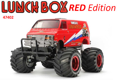 Tamiya Lunch Box red edition RC Kit - 47402 CW-01