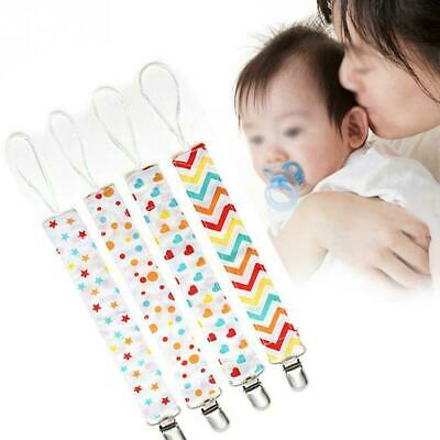 4pcs Baby Anti-lost Hot Clip Holder Dummy Pacifier Nipple Strap Soother Cha A1O7