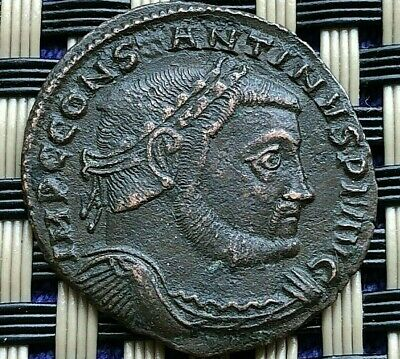Constantine I The Great 308-337 Ad Ae Follis Jupiter Ancient Roman Coin