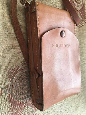 Polaroid SX-70 Articulated Leather Case