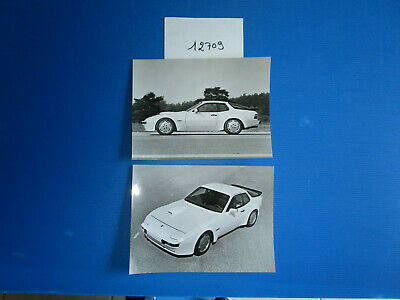 N°12709 / PORSCHE proto course 944 ?   : 2  photos d'epoque