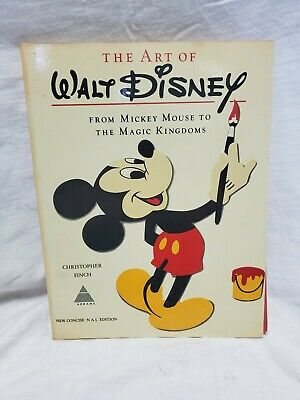 THE ART OF WALT DISNEY by Christopher Finch 1975 New Concise N A L Edition