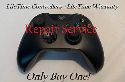 Original XBOX ONE Wireless Controller - Repair Service - By LifeTime Warranty