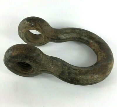 Old Clevis Shackle Bolt Type General Rigging NO PIN