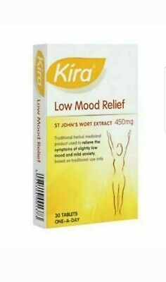Kira Low Mood Relief Tablets 450mg (30) 100%GENUINE UK STOCK