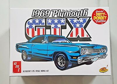 Amt 1/25 Dirty Donny Special Edition 1969 Plymouth Gtx Hemi Model Kit # 1065 F/S