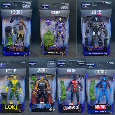 "Marvel Legends 6"" Avengers Endgame Wave 2 - Set of 7 (HULK BAF)"