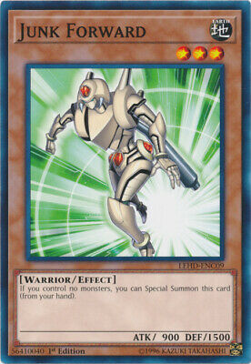 x3 Junk Forward - LEHD-ENC09 - Common - 1st Edition Yu-Gi-Oh! M/NM