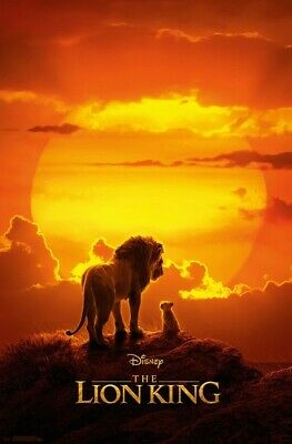 King Of Pride Rock Le Roi Lion Maxi Poster PP34444 Taille 91.5 X 61cm