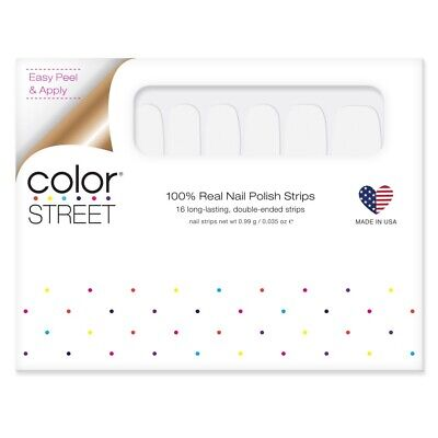 COLOR STREET Nail Strips Swiss And Tell - New Summer POP Collection