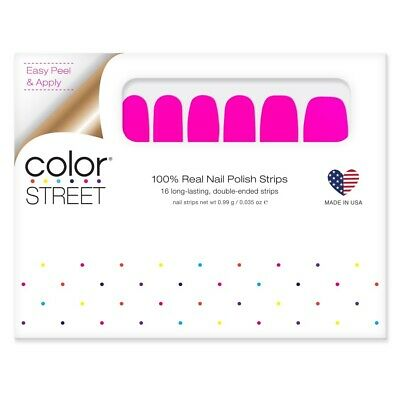 COLOR STREET Nail Strips Nevada Neon - New Summer POP Collection