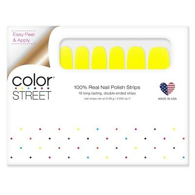 COLOR STREET Nail Strips Electric City - New Summer POP Collection