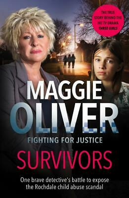 Survivors Maggie Oliver New Paperback Book Rochdale Child Abuse Scandal