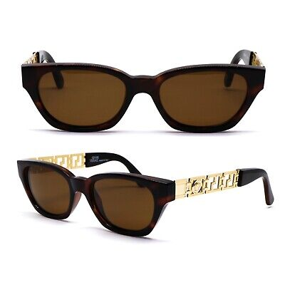 Occhiali Gianni Versace 467 900 Vintage Sunglasses New Old Stock 1990'S