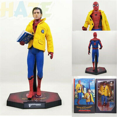 Avengers Spider-Man: Homecoming Figure Toy with Real Cloth Head Carving