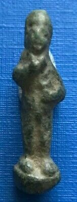 Small Ancient Roman Wearable Bronze Amulet of Priapus 1st - 3rd Century AD #661