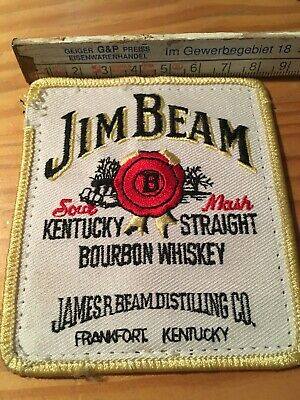 Aufnäher Back Patch Kutte MC Biker Weste BW Banner Jim Beam Kentucky Whiskey