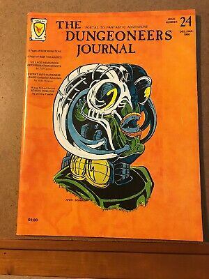 D&D Judges Guild Magazine The Dungeoneer Journal #23 Dungeons & Dragons!