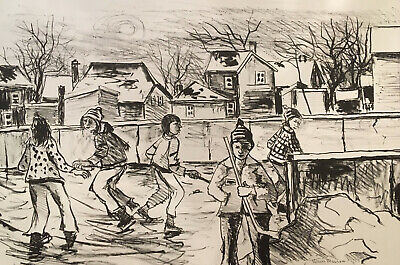 Henri Masson, RCA, Canadian, signed lithograph (selection of 8)
